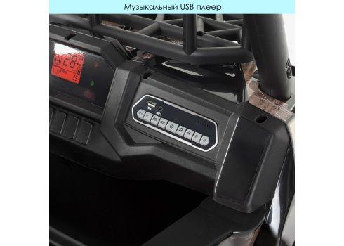 Детский электромобиль джип Buggy (Багги) Bambi JS360EBLR-2(24V) черный