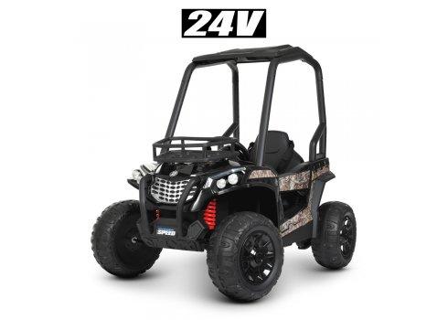 Детский электромобиль Джип Багги JS370EBLR-2(24V) черный