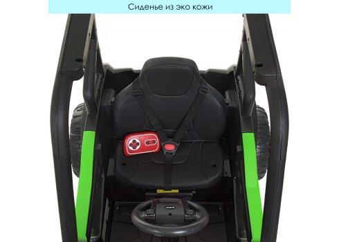 Детский электромобиль Джип Багги JS370EBLR-5(24V) зеленый