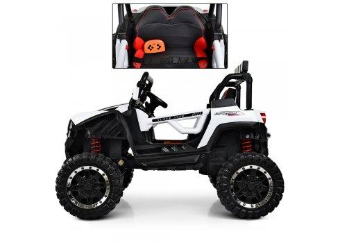 Детский 4-х моторный электромобиль внедорожник Buggy (Багги) M 3804EBLR-1 белый