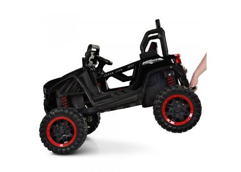 Детский 4-х моторный электромобиль внедорожник Buggy (Багги) M 3804EBLR-2-3 черный