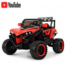 Детский 4-х моторный электромобиль внедорожник Buggy (Багги) M 3804EBLR-3 красный