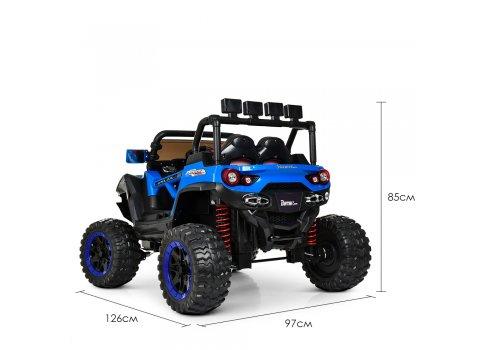 Детский 4-х моторный электромобиль внедорожник Buggy (Багги) M 3804EBLR-4 синий