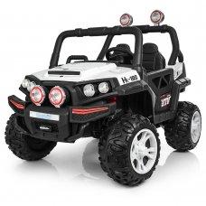 Детский 4-х моторный электромобиль внедорожник Buggy (Багги) M 3825EBLR-1 белый