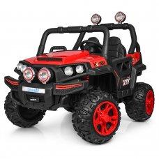 Детский 4-х моторный электромобиль внедорожник Buggy (Багги) M 3825EBLR-3 красный