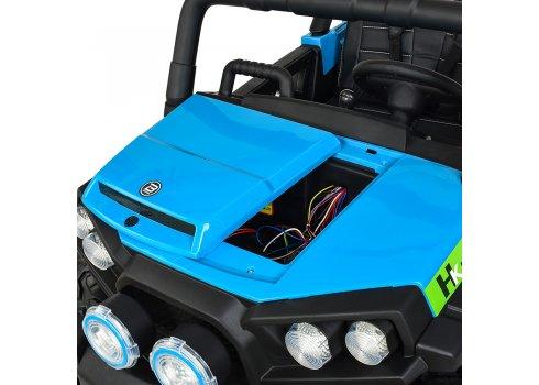 Детский 4-х моторный электромобиль внедорожник Buggy (Багги) M 3825EBLR-4 голубой