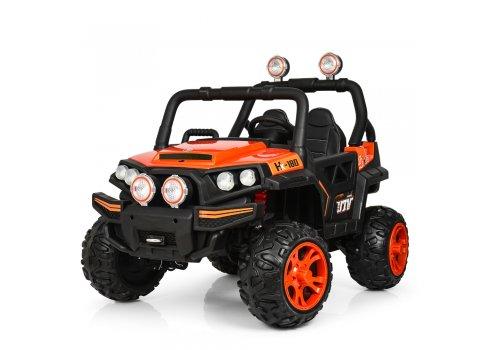 Детский 4-х моторный электромобиль внедорожник Buggy (Багги) M 3825EBLR-7 оранжевый
