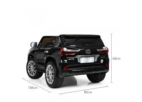 Детский полноприводный электромобиль Lexus (Лексус) LX 570 M 3906EBLR-2 черный