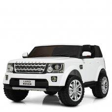 Детский двухместный электромобиль Джип Land Rover Discovery M 4063EBLR-1 белый
