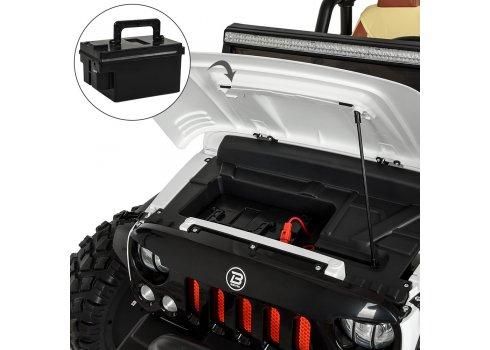 Детский полноприводный электромобиль Jeep Wrangler M 4077EBLR-1 белый