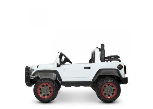 Электромобиль детский Джип Interceptor Bambi M 4123EBLR-1 (24V) белый