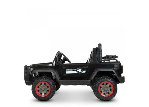 Электромобиль детский Джип Interceptor Bambi M 4123EBLR-2 (24V) черный