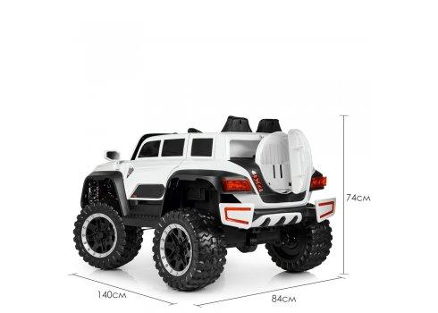 Детский полноприводный электромобиль Джип Jeep M 4138EBLR-1 белый