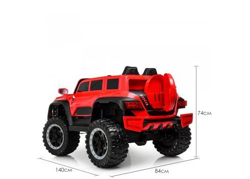 Детский полноприводный электромобиль Джип Jeep M 4138EBLR-3 красный