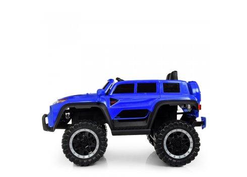 Детский полноприводный электромобиль Джип Jeep M 4138EBLR-4 синий