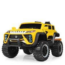 Детский полноприводный электромобиль Джип Jeep M 4138EBLR-6 желтый
