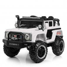 Детский электромобиль Джип Land Rover (Ленд Ровер) M 4150EBLR-1 белый