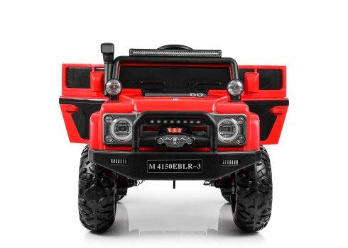 Детский электромобиль Джип Land Rover (Ленд Ровер) M 4150EBLR-3 красный