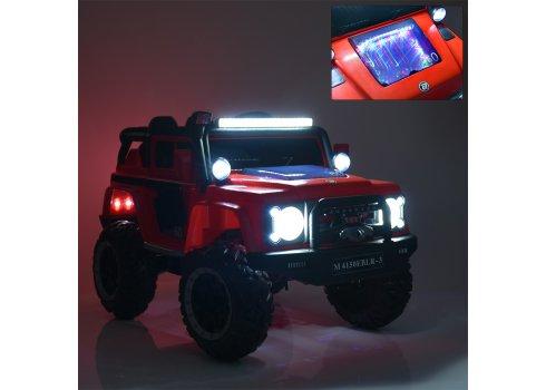 Детский электромобиль Джип Land Rover (Ленд Ровер) M 4150EBLRS-2 черный автопокраска