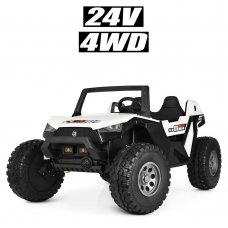 Детский электромобиль в стиле BUGGY (Багги) M 4170EBLR-1(24V) белый