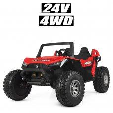 Детский электромобиль в стиле BUGGY (Багги) M 4170EBLR-3(24V) красный