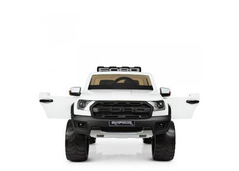 Детский электромобиль джип Ford с 2-мя мощными моторами M 4174EBLR-1 белый