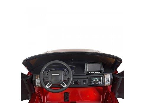 Детский электромобиль с планшетом в стиле Range Rover M 4175(MP4)EBLRS-3 красный