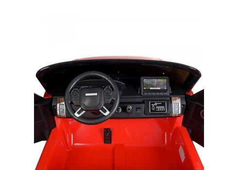 Детский электромобиль Джип в стиле Range Rover M 4175EBLR-3 красный