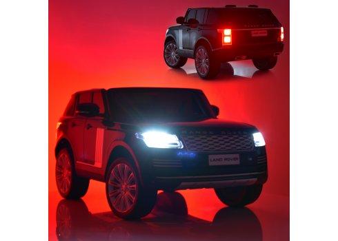 Детский электромобиль с планшетом в стиле Range Rover M 4175(MP4)EBLR-1 белый