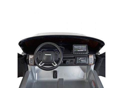 Детский электромобиль в стиле Range Rover с автопокраской M 4175EBLRS-11 серый