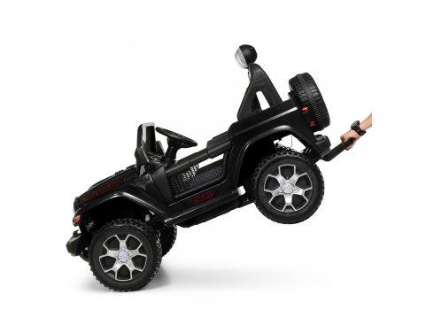 Детский полноприводный электромобиль Джип Jeep 4х4 Bambi M 4176EBLR-2 черный