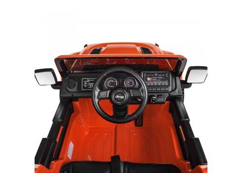Детский полноприводный электромобиль Джип Jeep 4х4 Bambi M 4176EBLR-7 оранжевый