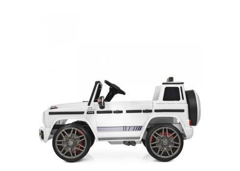 Детский электромобиль Джип Mercedes AMG (Мерседес) BAMBI M 4179EBLR-1 белый
