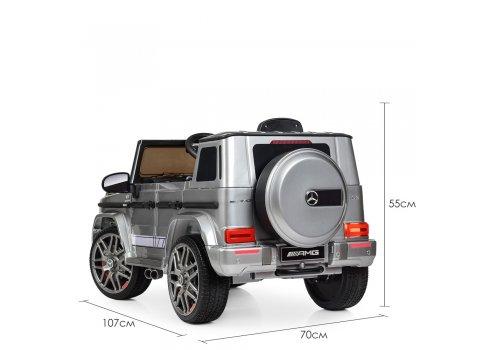Детский электромобиль Джип Mercedes AMG (Мерседес) BAMBI M 4179EBLRS-11 серый