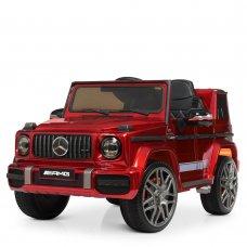 Детский электромобиль Джип Mercedes AMG (Мерседес) BAMBI M 4179EBLRS-3 красный