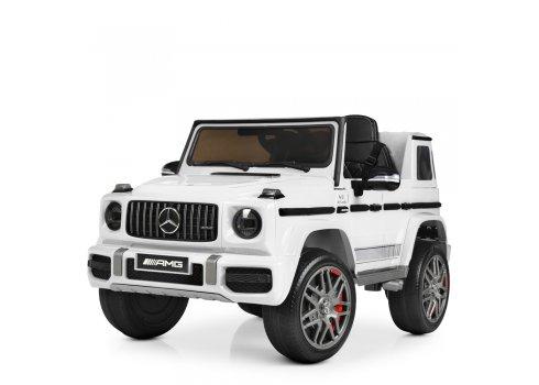 Детский электромобиль Джип Mercedes (Мерседес) M 4180EBLR-1 белый