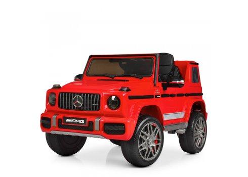 Детский электромобиль Джип Mercedes (Мерседес) M 4180EBLR-3 красный