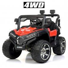 Детский электромобиль Джип Bambi Racer M 4198EBLR-3 красный