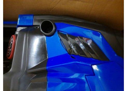 Детский электромобиль Джип Bambi Racer M 4198EBLR-4 синий УЦЕНКА
