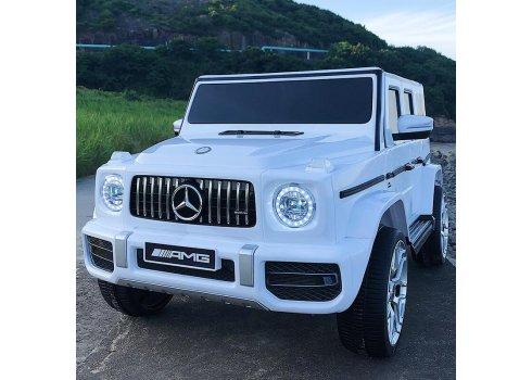 Детский электромобиль ДжипMercedes-AMG G65 M 4214EBLR-1 белый