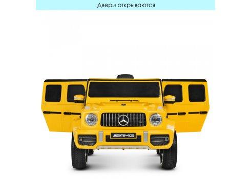 Детский электромобиль Джип Mercedes-AMG G65 M 4214EBLR-6 желтый
