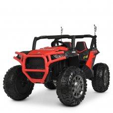 Детский электромобиль Джип BAMBI M 4248EBLR-3 красный