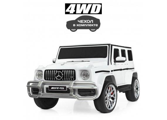 Детский электромобиль 4х4 Mercedes BAMBI M 4259EBLR-1 белый