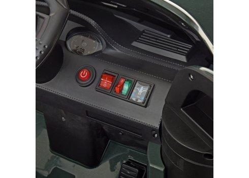 Детский полноприводный электромобиль в стиле Toyota M 4270EBLR-5 зеленый
