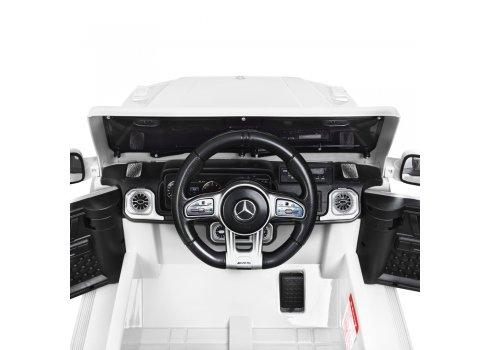 Детский электромобиль джип Mercedes M 4280EBLR-1 белый