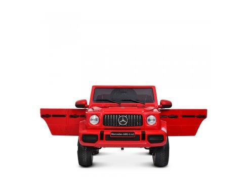 Детский электромобиль джип Mercedes M 4280EBLR-3 красный