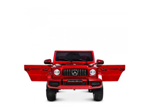 Детский электромобиль джип Mercedes M 4280EBLRS-3 красный