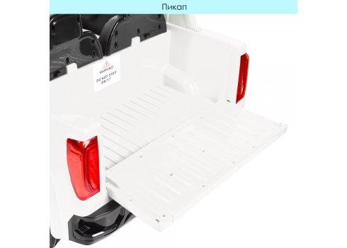 Детский электромобиль джип GMC Sierra Bambi M 4294EBLR-1 белый