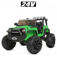 Детский электромобиль Джип Bambi M 4296EBLR-5(24V) зеленый