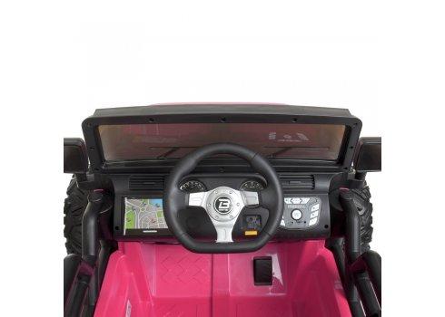Детский электромобиль Джип Bambi M 4296EBLR-8(24V) розовый